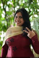 Anna Reshma Rajan at Vishwaroopam 2 Press Meet (16)