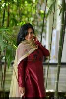 Anna Reshma Rajan at Vishwaroopam 2 Press Meet (4)