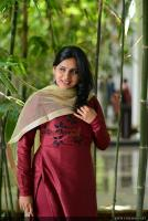 Anna Reshma Rajan at Vishwaroopam 2 Press Meet (5)