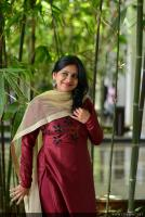 Anna Reshma Rajan at Vishwaroopam 2 Press Meet (6)