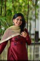 Anna Reshma Rajan at Vishwaroopam 2 Press Meet (8)
