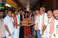 Srinivasa Kalyanam Team At Vijayawada Kanaka Durga Temple (20)