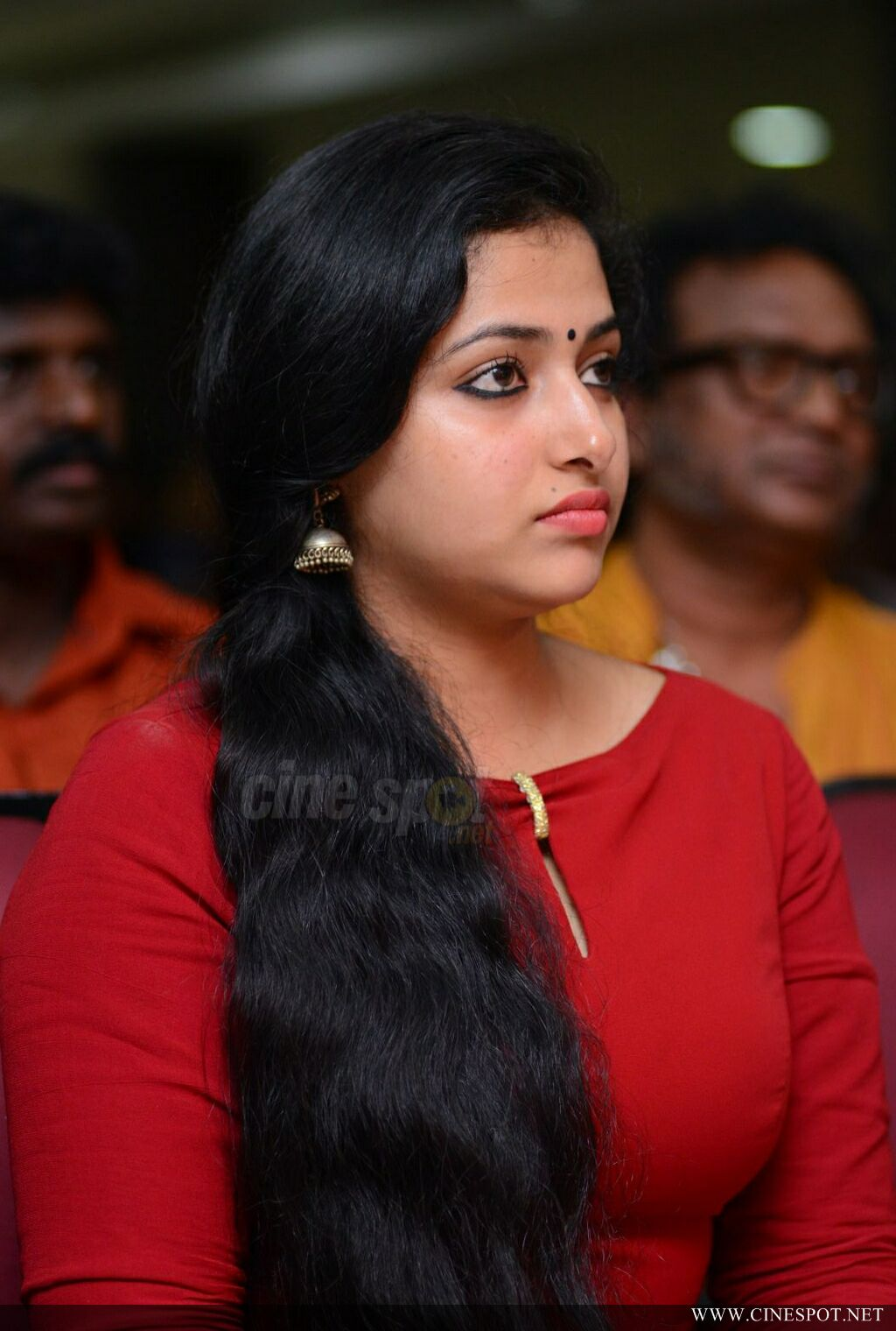 Anu Sithara at Captain 100 Days Celebrations (8)