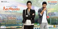 Geetha Govindam Pre Release Poster