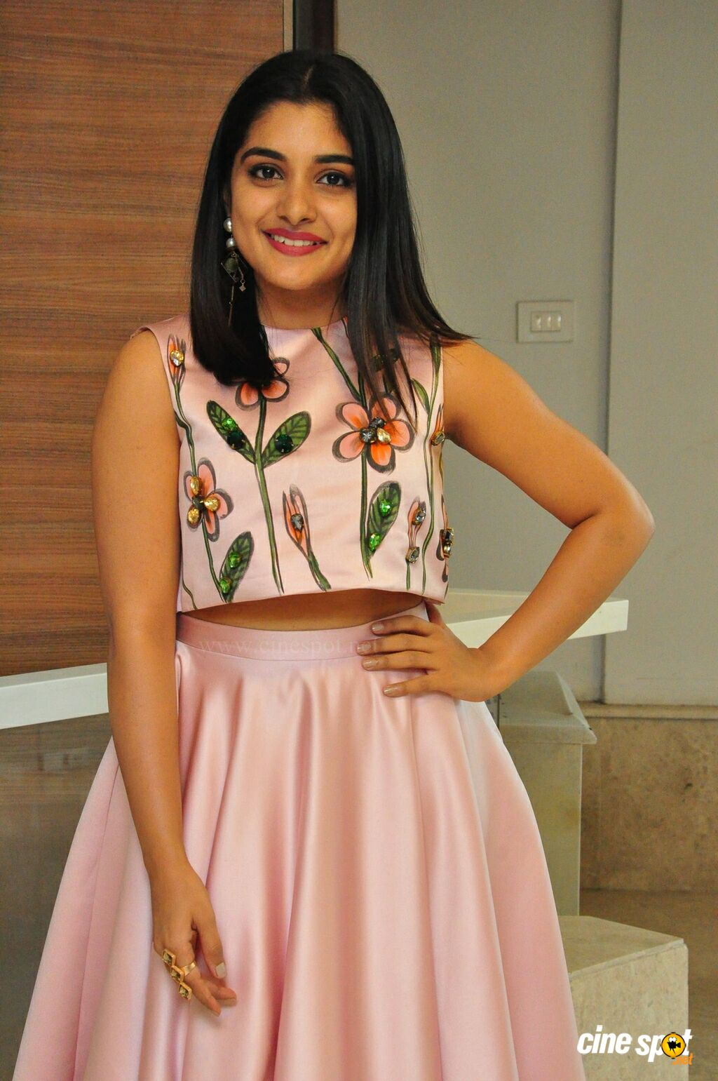 Nivetha Thomas at Neevevaro Audio Launch (15)