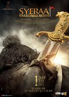 Sye Raa Movie Teaser 1 Day To Go Poster