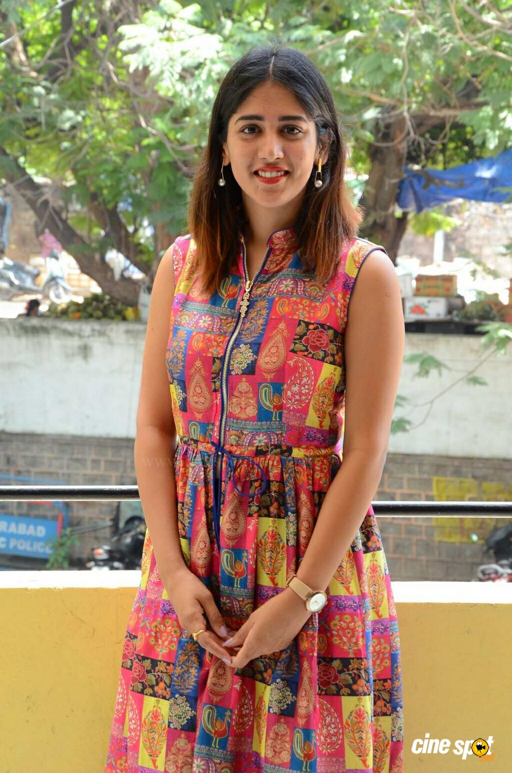Manu Heroine Chandini Chowdary Interview Photos (12)
