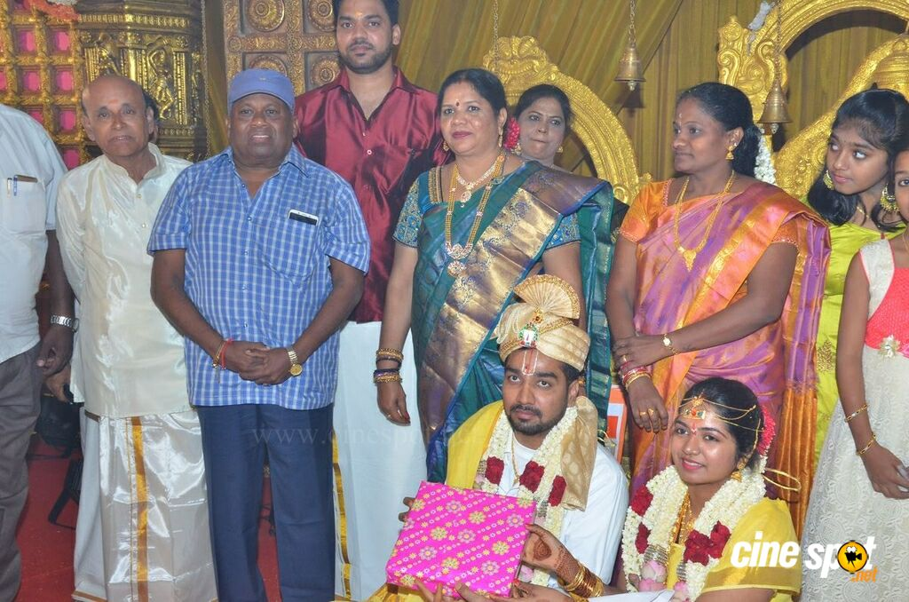 Vasu Vikram's Daughter Sandhiya Wedding Stills (3)