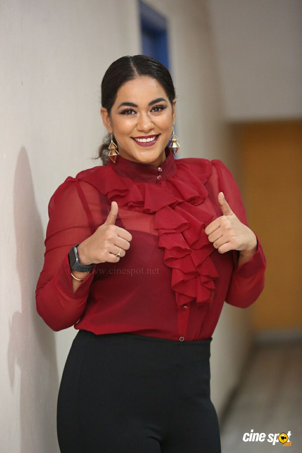 Mumaith Khan at Kobbari Matta Teaser Launch (11)