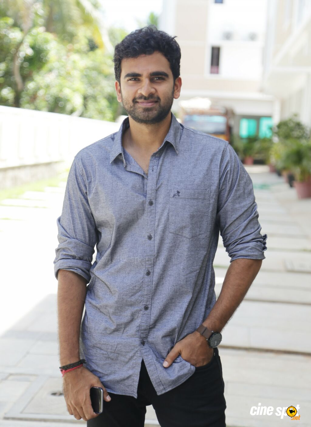 Ashok Selvan at Redrum Movie Pooja (2)