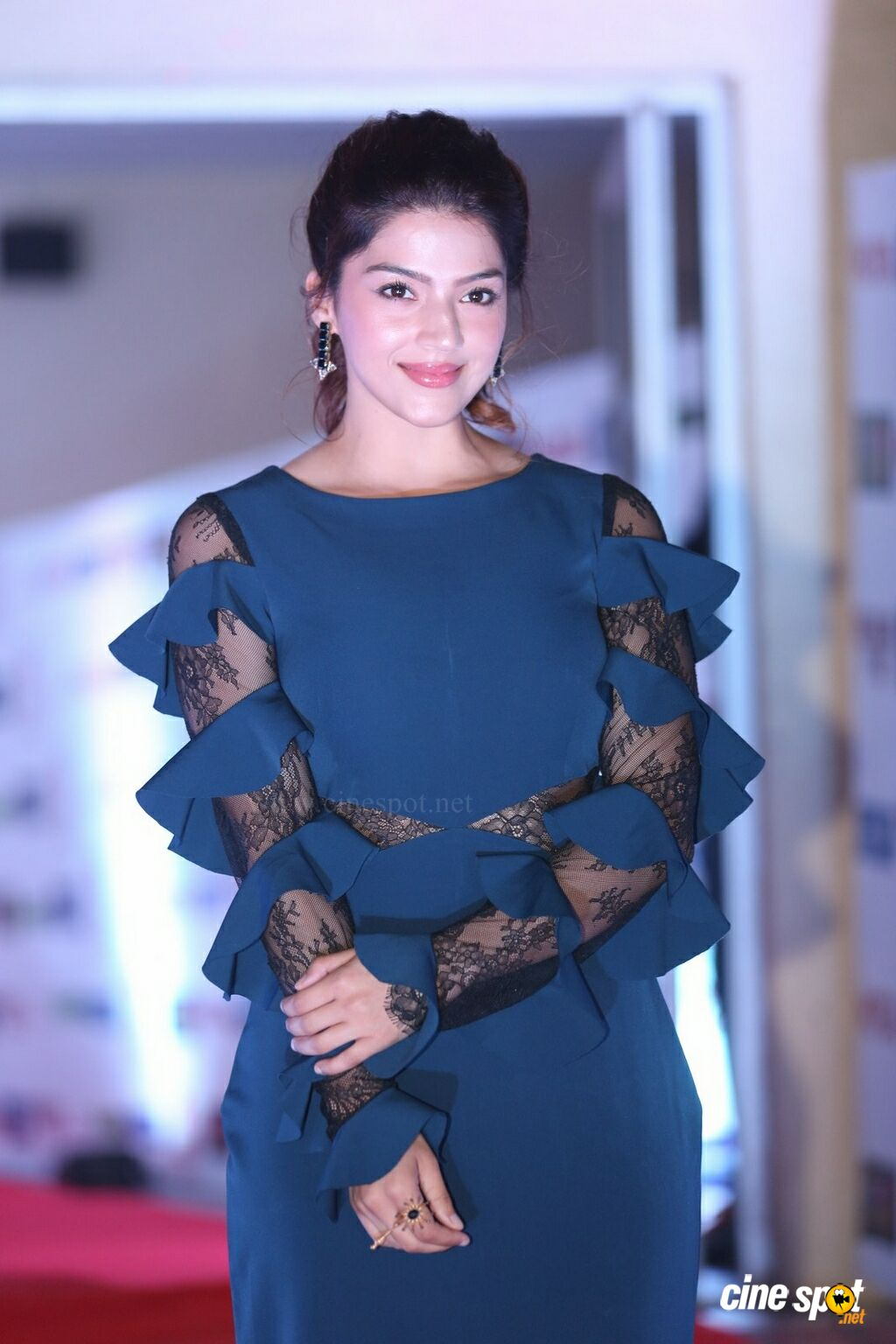 Mehrene Kaur Pirzada at NOTA Hyderabad Public Meet (6)