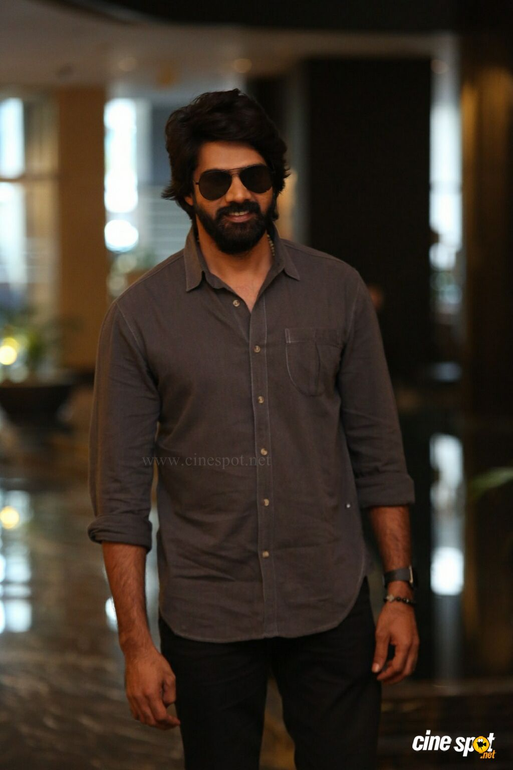 Naveen Chandra at Aravinda Sametha Movie Press Meet (3)