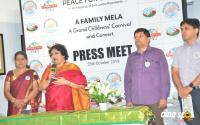 Latha Rajinikanth At Peace For Children Press Meet Photos