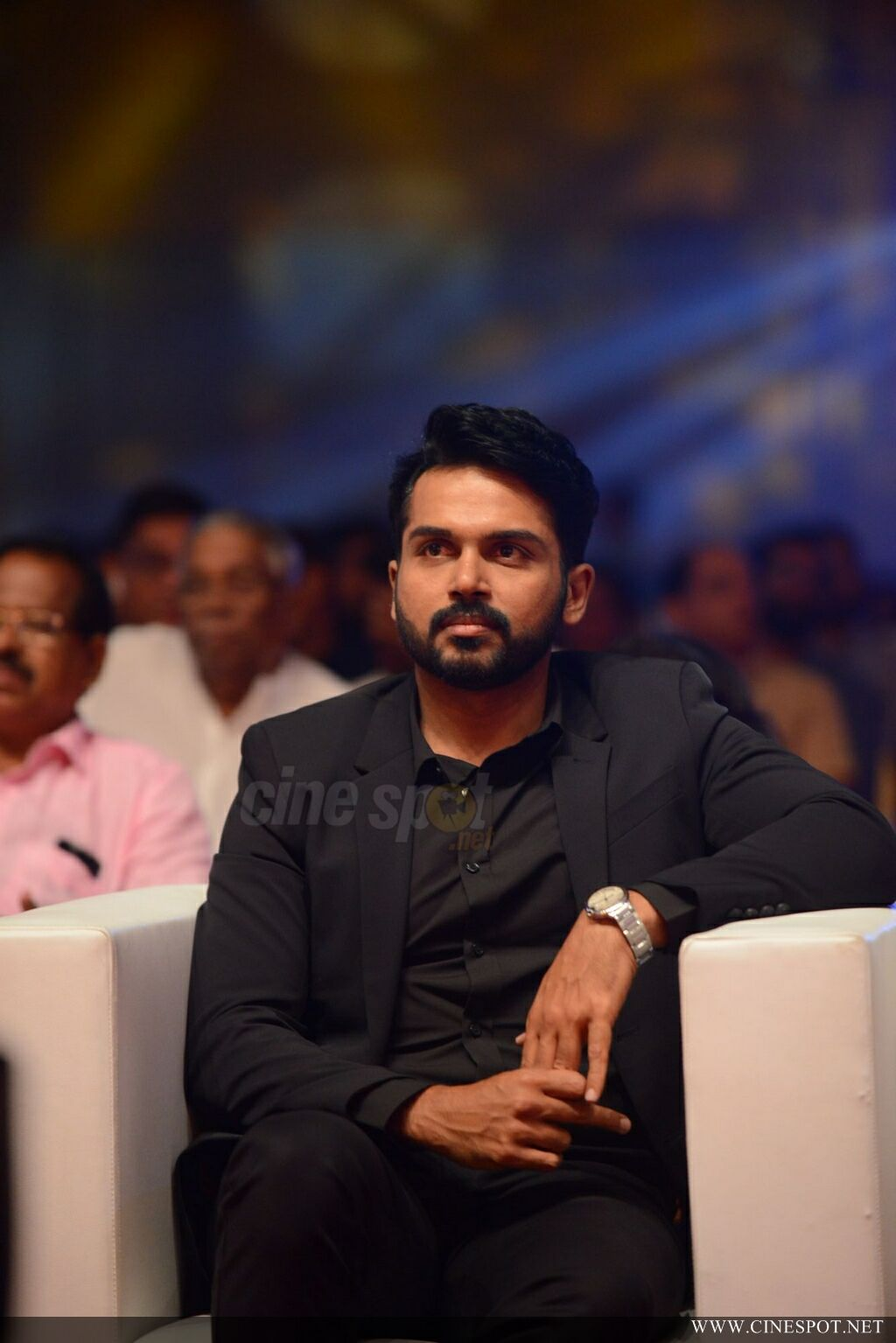 Karthi at Zee Keralam Channel Launch (10)