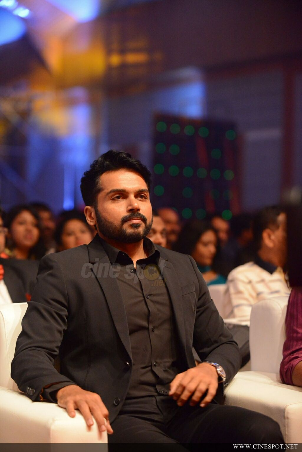 Karthi at Zee Keralam Channel Launch (2)