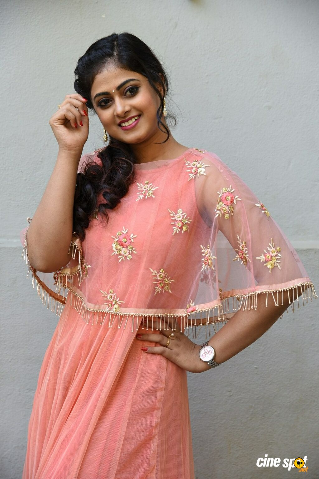 Megha Sri at Amrutha Varshini Movie Opening (5)