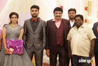Ramesh Khanna Son Jashwanth Kannan Priyanka Wedding Reception Stills (9)