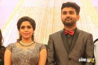 Ramesh Khanna Son Jashwanth Kannan Priyanka Wedding Reception Stills (106)