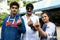 Tollywood Celebrities Cast their Votes 2018 Photos