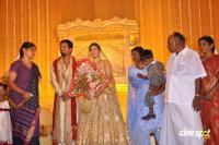 Actress Rambha Marriage reception Photos