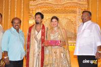 Rambha reception photos Ramba with Indra Kumar Reception Marriage Photos (2)
