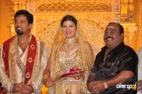 Rambha reception photos Ramba with Indra Kumar Reception Marriage Photos