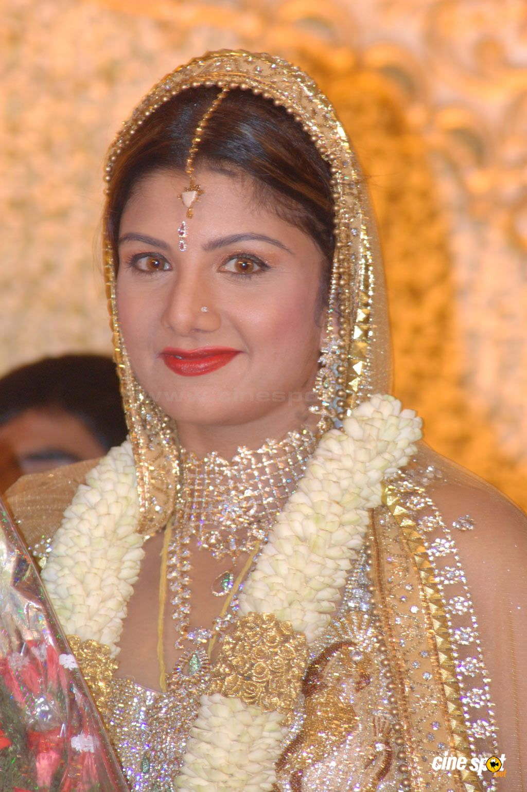 Rambha at Rambha Marriage Reception Photos