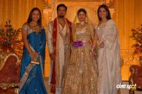 Rambha Reception Photos Actress Rambha marriage Reception Photos (14)