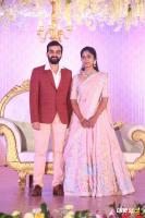 Harshith Reddy & Gowthami Wedding Reception Photos