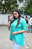 Namitha at Agambavam Shooting Spot (4)