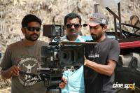 Nedunalvaadai Movie Working Stills