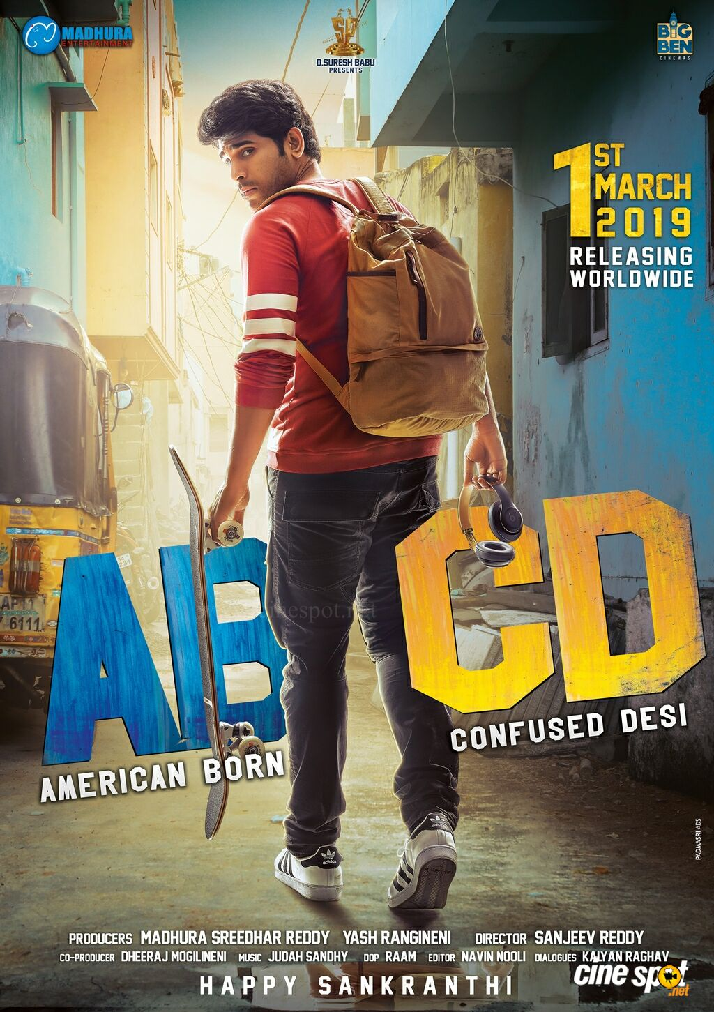 ABCD Movie Release Date Poster