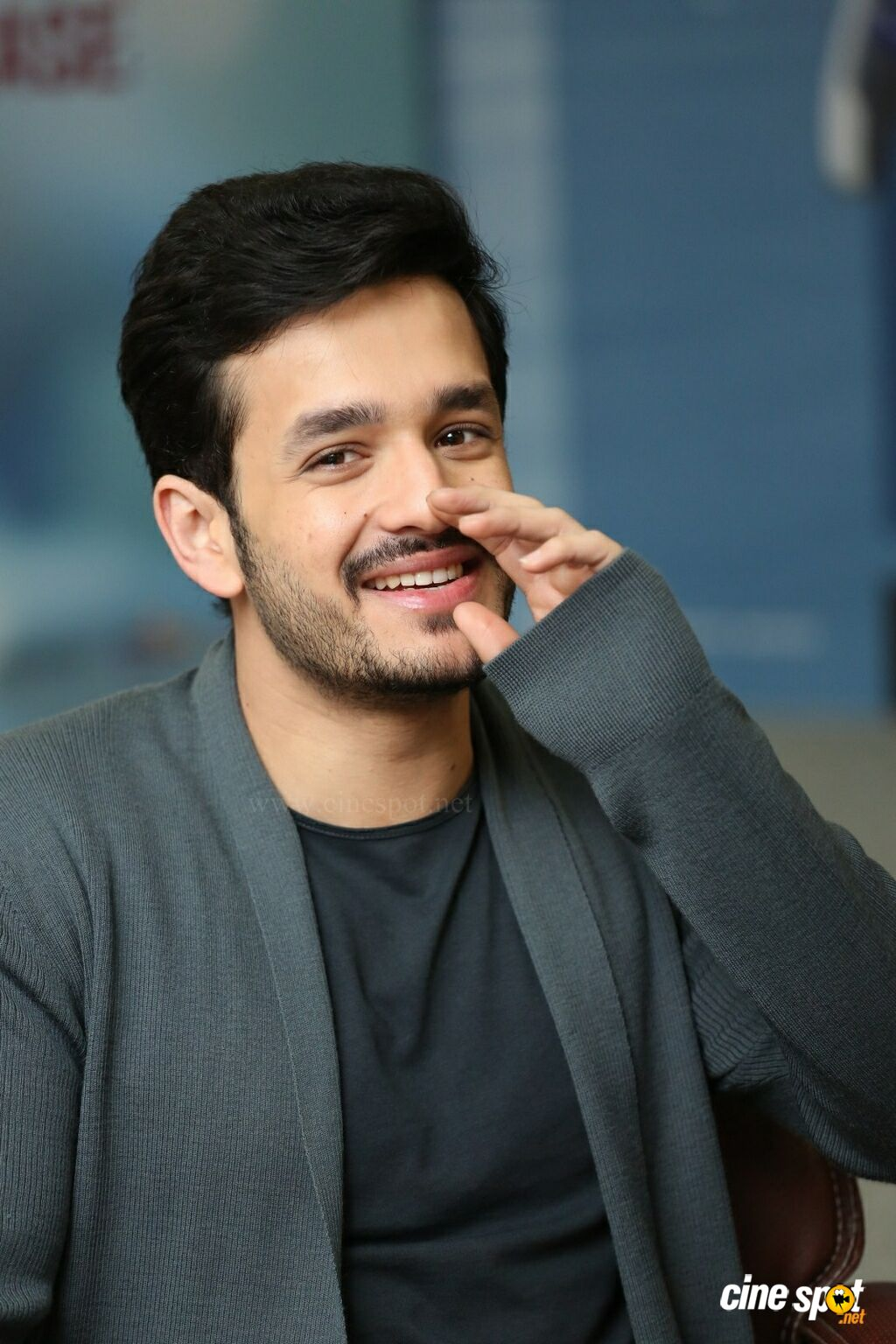 Mr Majnu Hero Akhil Akkineni Interview Photos (11)