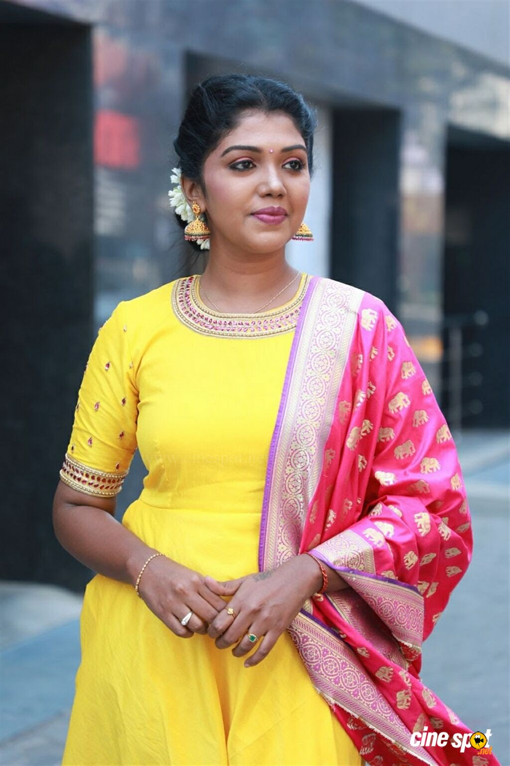 Riythvika at Nethra Movie Audio Launch (3)