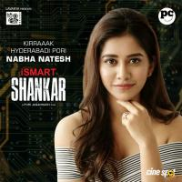 iSmart Shankar Movie Nabha Natesh First Look Poster