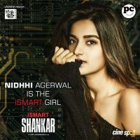 iSmart Shankar Movie Nidhhi Agerwal First Look Poster