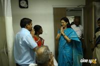 Gautami Visited VS Cancer Hospital Photos
