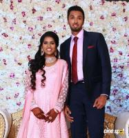 Manobala Son Harish Priya Marriage Reception Photos