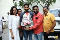 Aari Birthday Celebration At Aleka Shooting Spot Photos