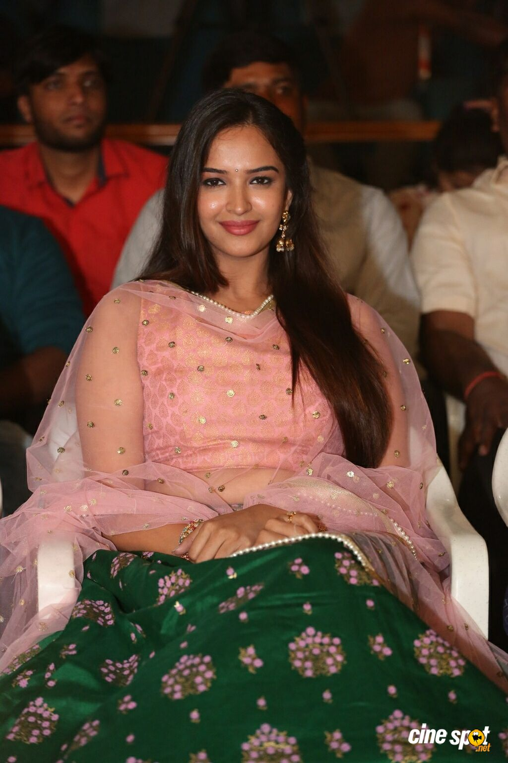 Pujita Ponnada at Where Is The Venkata Lakshmi Audio Launch (4)