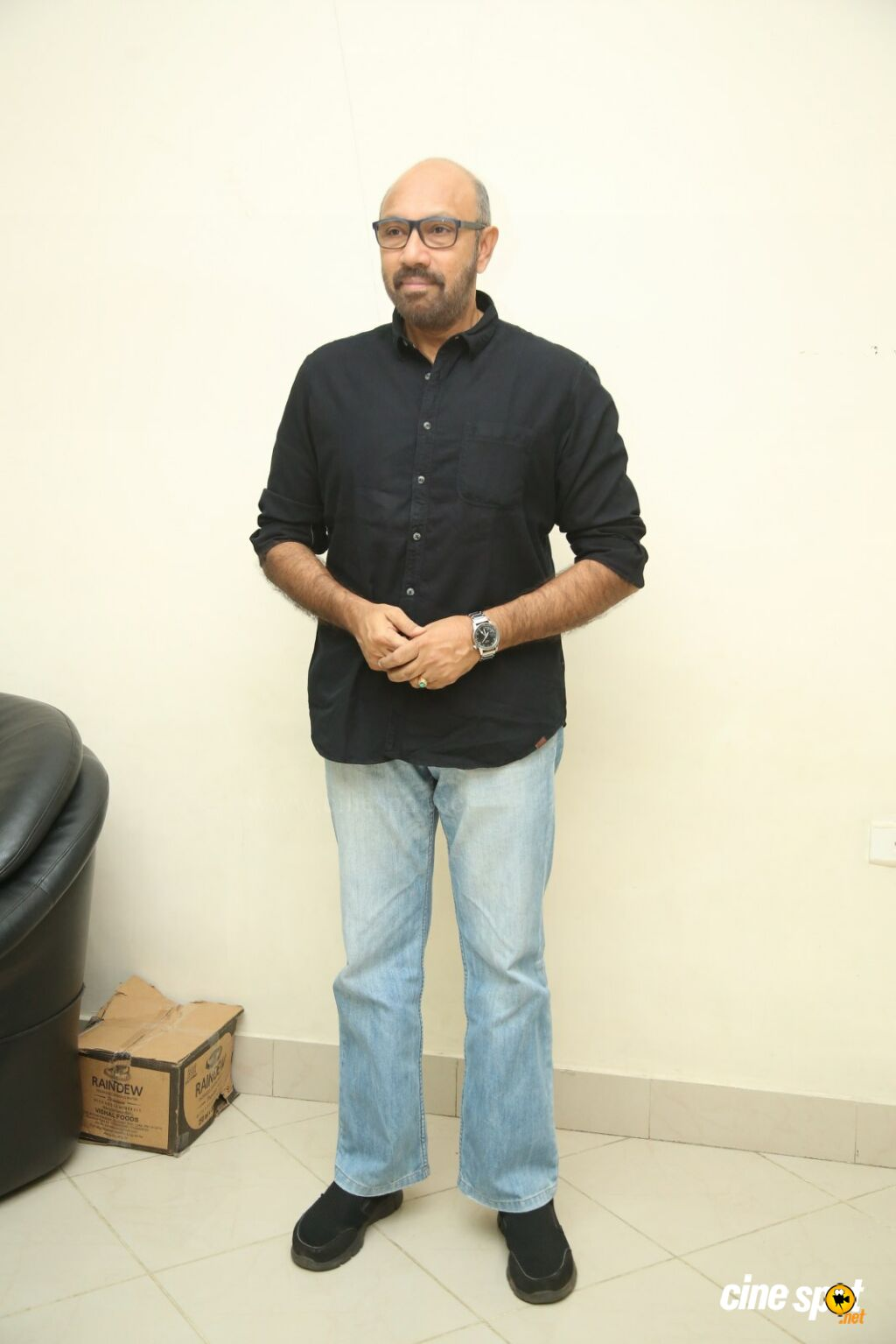 Sathyaraj at Jersey Movie Pre Release Event (1)