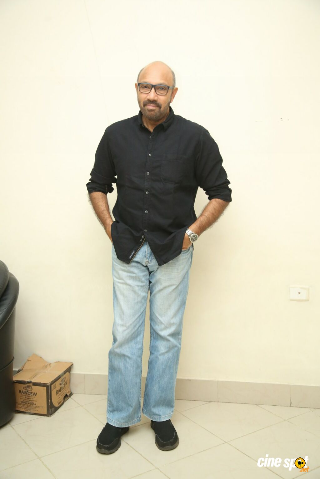 Sathyaraj at Jersey Movie Pre Release Event (2)