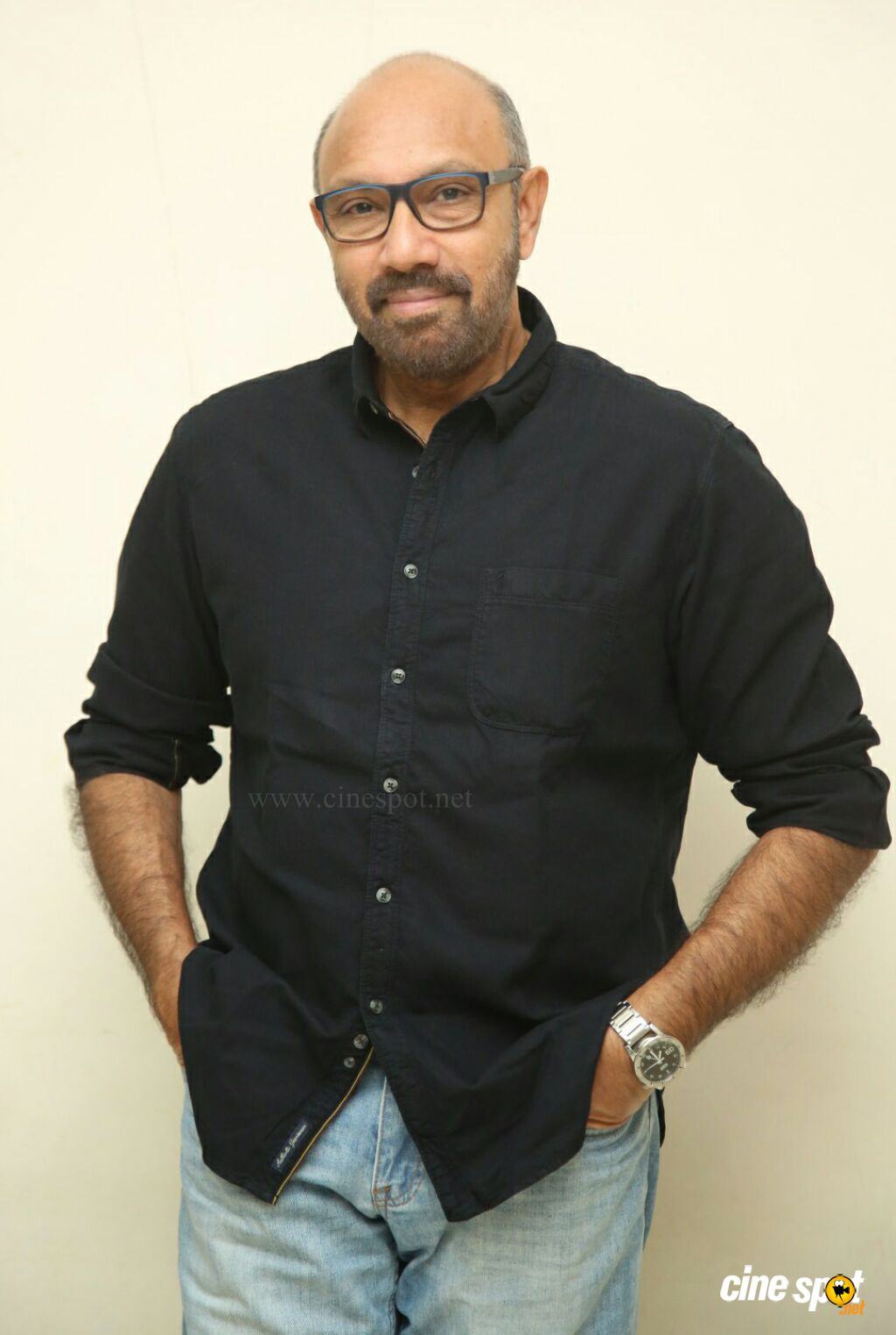 Sathyaraj at Jersey Movie Pre Release Event (3)