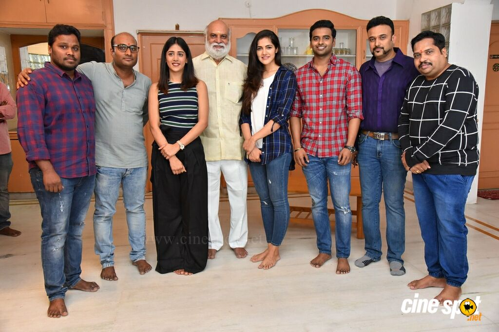 Sai Sushanth And Chandini And Simran New Movie Opening (28)