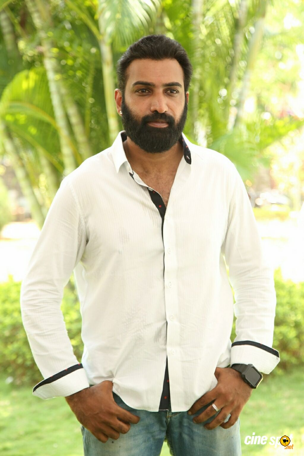 Taraka Ratna at Devineni Movie Opening (1)