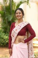 Aditi Myakal at Eakam Movie Teaser Launch (2)
