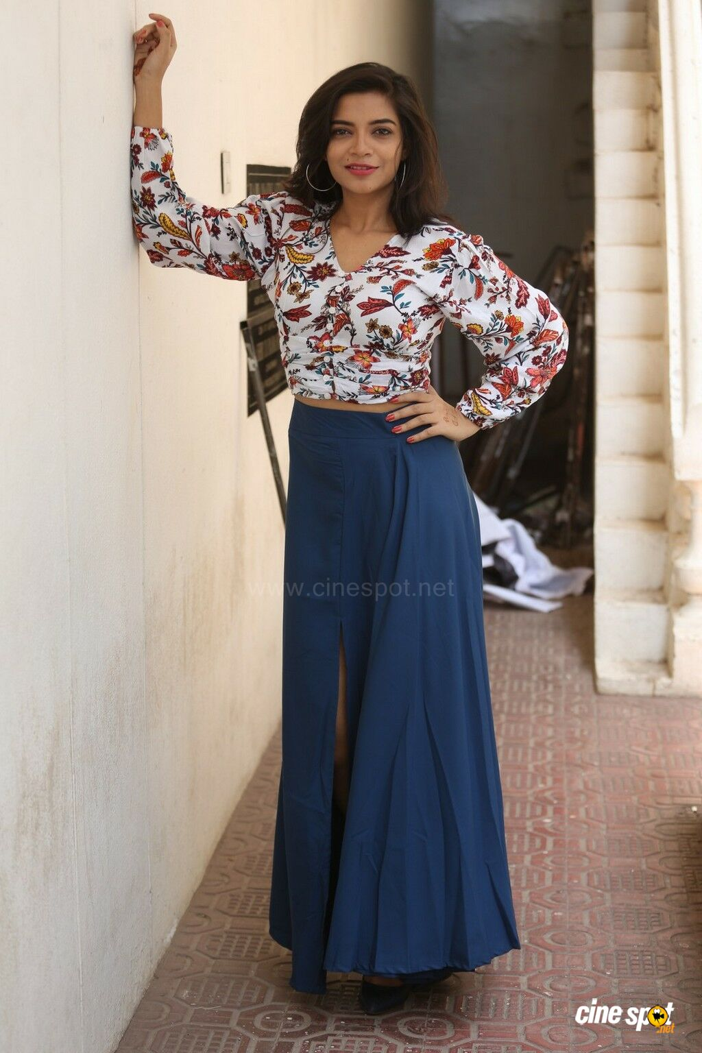 Prashanthi Charuolingah at Falaknuma Das Trailer Launch (5)