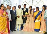 Dr SM Balaji Daughter Wedding Reception Photos