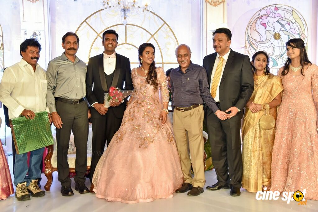 Dr SM Balaji Daughter Wedding Reception (16)