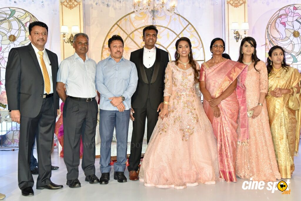Dr SM Balaji Daughter Wedding Reception (22)
